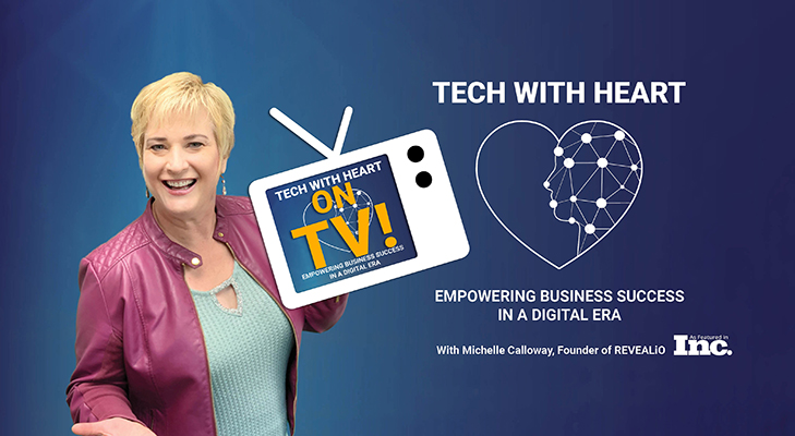 Blockchain For Business   Tracy Hazzard   Tech With Heart Podcast with Michelle Calloway