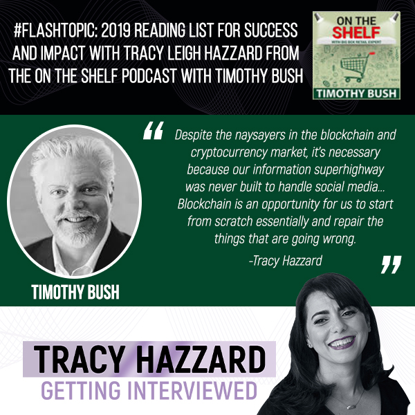 Reading List For Success   Tracy Hazzard   On the Shelf Podcast with Timothy Bush