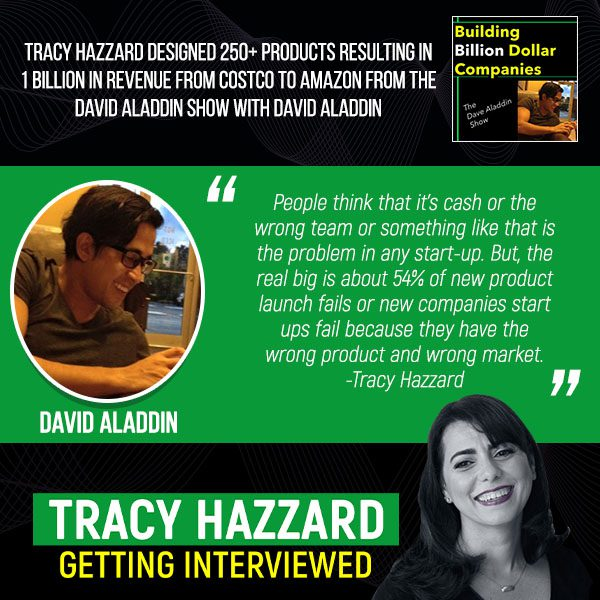 Product Design And Commercialization   Tracy Hazzard   The David Aladdin Show with David Aladdin