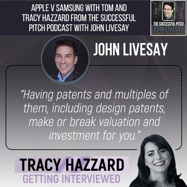 Design Patents   Tracy Hazzard   The Successful Pitch with John Livesay