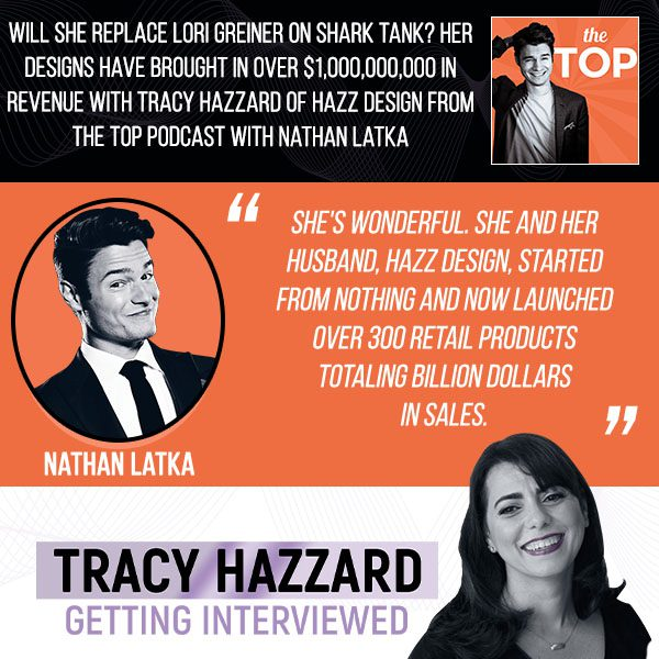Design Business   Tracy Hazzard   The Top Podcast With Nathan Latka