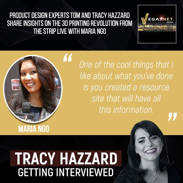 3D Printing Revolution   Tracy Hazzard   The Strip LIVE with Maria Ngo