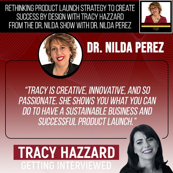 Product Design   Tracy Hazzard   Foresight Strategies Show with Dr. Nilda Perez